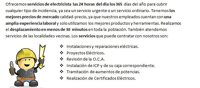 Electricista 24 horas Andoain muy profesionales